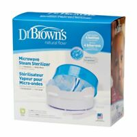 Dr Brown's Microwave Baby Bottle Steriliser Brand New BUSTED PACKAGING BOX