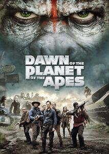 A4 Poster Dawn of the Planet of the Apes Photo Print.