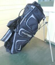 Nike Xtreme Sport Stand Bag / 6-Way Divider / Black & Grey / No Rain Cover