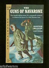 GUNS OF NAVARONE - Commandos in Med, Alistair MacLean     US 1st SB VG