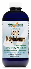 Liquid Ionic Minerals Molybdenum 96 Days At 75 mcg Plus 2 Mg of Trace Minerals