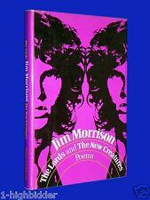 Lords & New Creatures 1st Ed Jim Morrison Doors HCDJ Hardcover w/ Dust Jacket