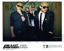 FAR EAST MOVEMENT FM HAND SIGNED 8x10 GROUP PHOTO+COA           LA HIP HOP GROUP
