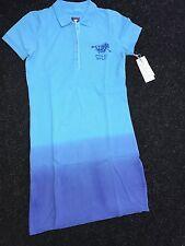 Polo Sylt Kleid Farbverkauf Polokleid blau uvp: 89,90 €  M / L