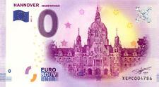 ALLEMAGNE Hanovre, Neues Rathaus, 2017, Billet 0 € Souvenir