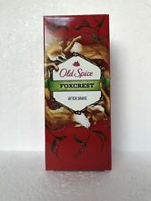 Old Spice FOXCREST After Shave NIB Discontinued VHTF Shaving Wild Collection