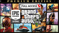 GTA 5 Grand Theft Auto V Epic Games Premium Edition Instant Delivery Region Free