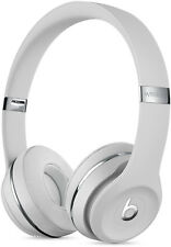 Sans Fil Casque Audio Beats par Dre Solo 3 MUH52ZM/A, On-Ear, Satin Argenté