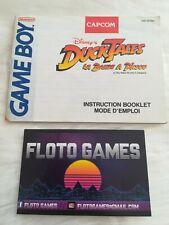 Notice de Duck Tales pour Nintendo Game Boy FAH - Floto Games
