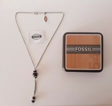 Fossil Damen-Halskette Edelstahl / Neu-Ungetragen Original Verpackt