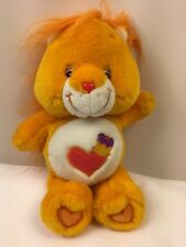 "Care Bear Cousin Brave Heart Lion Plush 13"" Orange Stuffed Animal 2004"