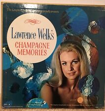"""Longines Symphonette Society  """"Lawrence Welk's Champagne Memories""""  LS 209"""