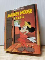 "VTG Walt Disney's Mickey Mouse Tales Miniature Book 1992 Illustrated 2.75"" x 3"""