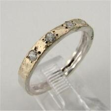 Hadar Designers Handmade 9k yellow Gold 925 Silver Moonstone Ring 6,7,8,9(I r308
