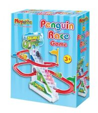 Penguin Race Track Boxed Game Classic Vintage Toy