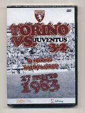 Dvd TORINO VS JUVENTUS 3-2 del 27 marzo 1983 NUOVO Toro Calcio Derby