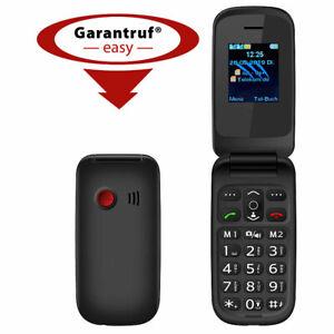 Notruf-Klapphandy XL-949 mit Garantruf Easy, Dual-SIM und Bluetooth