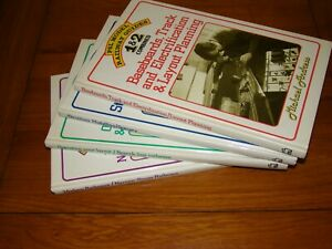 4 BOOKS - PSL MODEL RAILWAY GUIDES 1 & 2, 3 & 4, 5 & 6, 7 & 8 COMBINED - Andress