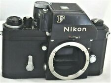 Nikon F Black Photomic SLR Film Camera No. 7161839 Issues