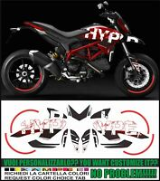 kit adesivi stickers compatibili  HYPERMOTARD 821 939 CONCEPT