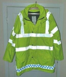 Hi-viz winter jackets X-Police  outdoors horse-riding cycling Turner-Virr MOD