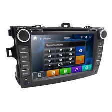 "For Toyota COROLLA 2009-2010 8"" GPS Navigation Car DVD Player Radio Bluetooth HD"