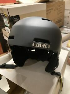 ! Giro Ledge FS MIPS Adult Medium Snow Ski Snowboarding Helmet Matte Black