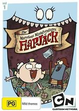 The Marvelous Misadventures of Flapjack : Vol 1 (DVD, 2009) Brand New & Sealed