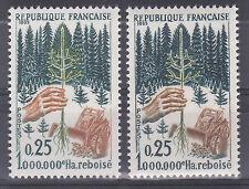 VARIETE FRANCE  N° YVERT 1461 REBOISEMENT NEUFS LUXE