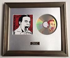 SIGNED/AUTOGRAPHED MAXIMO PARK - TOO MUCH INFORMATION CD FRAMED PRESENTATION
