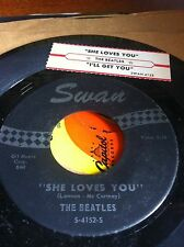 Beatles 45 She Loves You WITH JUKE BOX STRIP
