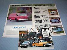 1966 CHEVROLET PICKUP, PANEL TRUCK, STAKE BED, VAN, Etc. HUGE BROCHURE, CATALOG