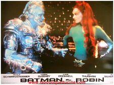 BATMAN ET ROBIN 8 Photos Cinéma / Lobby Cards ARNOLD SCHWARZENEGGER