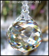 m/w Swarovski 30mm Mozart Ball + Clear Octagons Sun Catcher Lilli Heart Designs