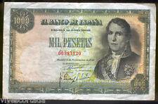 1000 Pesetas 1949 Don Ramon de Santillan @  EXCELENTE EJEMPLAR @