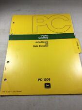 John Deere 33 Bale Elevator Parts Catalog