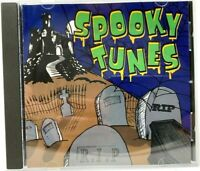 SPOOKY TUNES: HALLOWEEN PARTY SONGS & SOUNDS with ELVIRA & MORE (1995, CD) RHINO