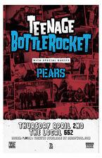 Teenage Bottlerocket * Original Concert Poster 11x17 !! free u.s. shipping!!