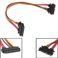 22Pin 7 +15 Male to Female Serial ATA SATA Data Power Combo Extension Cable 50cm