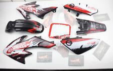 Black Plastics 3M H Decals Graphics For Honda CRF50 XR50 bikes Thumpstar SSR SDG