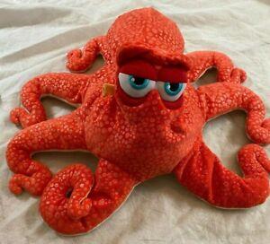 "Disney Store HANK Octopus Plush FINDING DORY 17"" Stuffed Animal Toy Orange"
