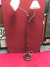 RETRO,MID CENTURY 1950-60S VINTAGE TWIN FLEXIBLE STANDARD LAMP
