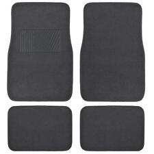 Superior Charcoal Design Front and Rear Car Auto Carpet Premium Floor Mat