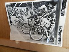 Original Photo of Bellevue Aces at the start line 1970's-80s B&W 7x5 inch