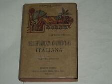 """MANUALI HOEPLI """"CORRISPONDENZA COMMERCIALE ANNO 1921 BUONE CONDIZIONI"""