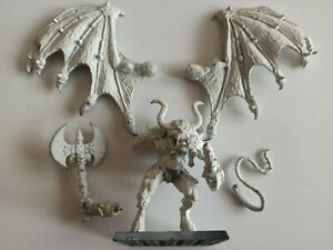 CHAOS: Bloodthirster Greater Daemon of Khorne  (OOP, metal, rare ) !