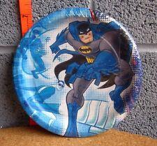 BATMAN Brave & Bold party plates NWT new Plastic Man cartoon 2009 Flash DC Comic