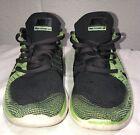 Nike Free Flyknit 4.0 Electric Green Size 10