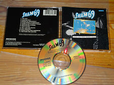 SHAM 69 - LIVE AT THE ROXY / RECEIVER ALBUM-CD 1990 (MINT-)
