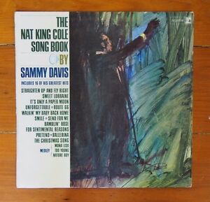 LP - Sammy Davis Jnr. The Nat King Cole Song Book - Reprise R-6164 Mono